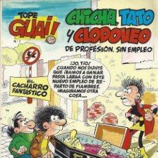 Cómics: CHICHA, TATO Y CLODOVEO. EL CACHARRO FANTÁSTICO. Lote 43722742