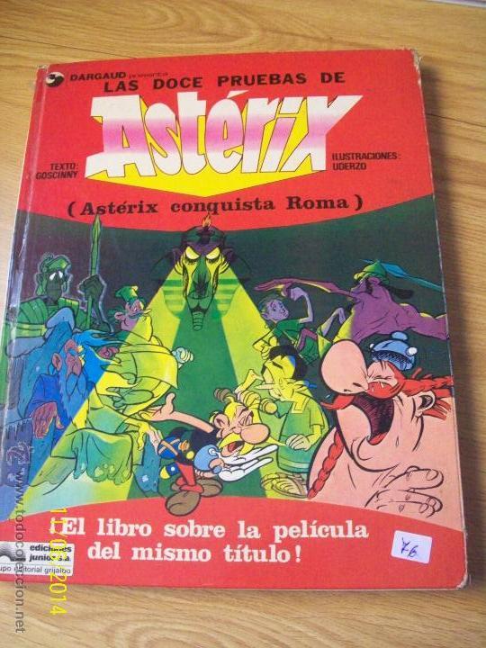 Asterix Las Doce Pruebas - Grijalbo 1976 -- Tap
