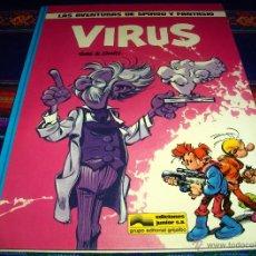 Cómics: SPIROU Y FANTASIO Nº 19 VIRUS. GRIJALBO 1989. BUEN ESTADO Y DIFÍCIL!!!!!. Lote 43801510