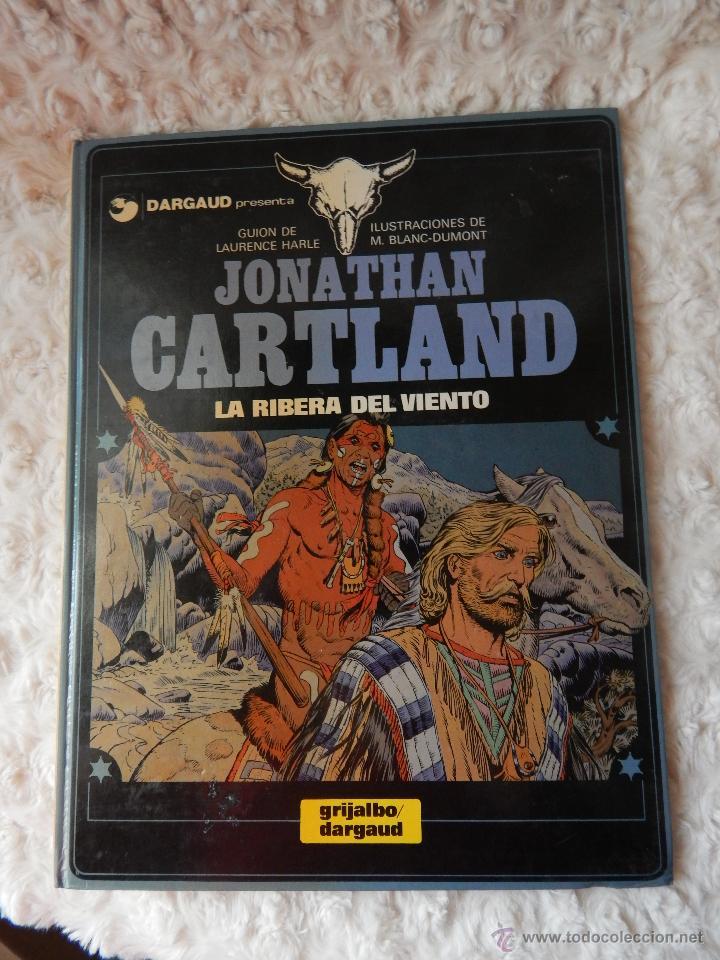 JONATHAN CARTLAND - LA RIBERA DEL VIENTO N. 3 (Tebeos y Comics - Grijalbo - Otros)