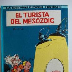 Cómics: EL TURISTA DEL MESOZOIC-D´ESPIRU I FANTASTIC-CATALA-CATALAN-ED.JUNIOR. Lote 44059637