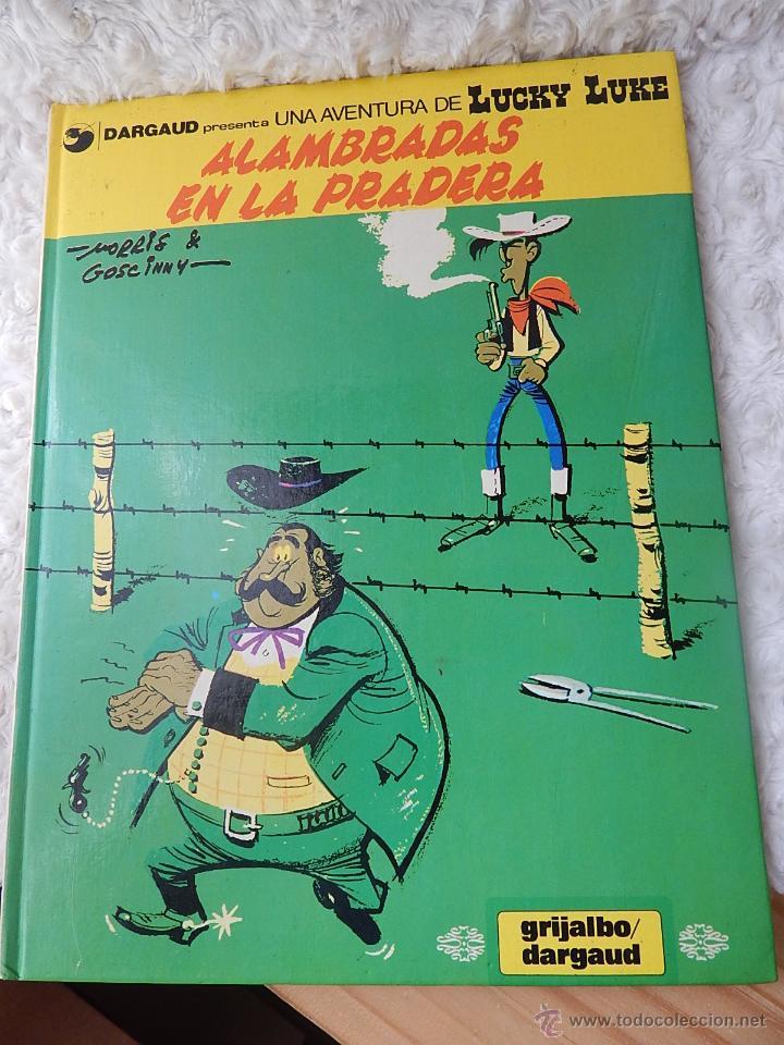 UNA AVENTURA DE LUCKY LUKE - ALAMBRADAS EN LA PRADERA N. 31 (Tebeos y Comics - Grijalbo - Lucky Luke)