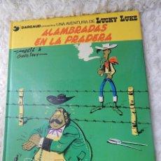 Cómics: UNA AVENTURA DE LUCKY LUKE - ALAMBRADAS EN LA PRADERA N. 31. Lote 44154568
