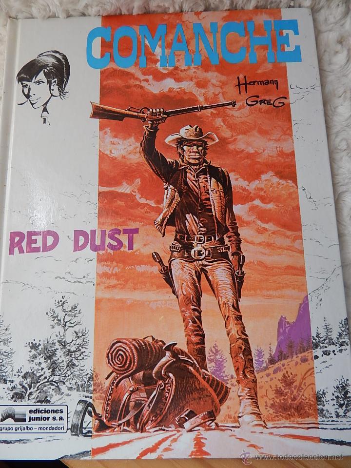 COMANCHE- RED DUST N. 1 (Tebeos y Comics - Grijalbo - Comanche)