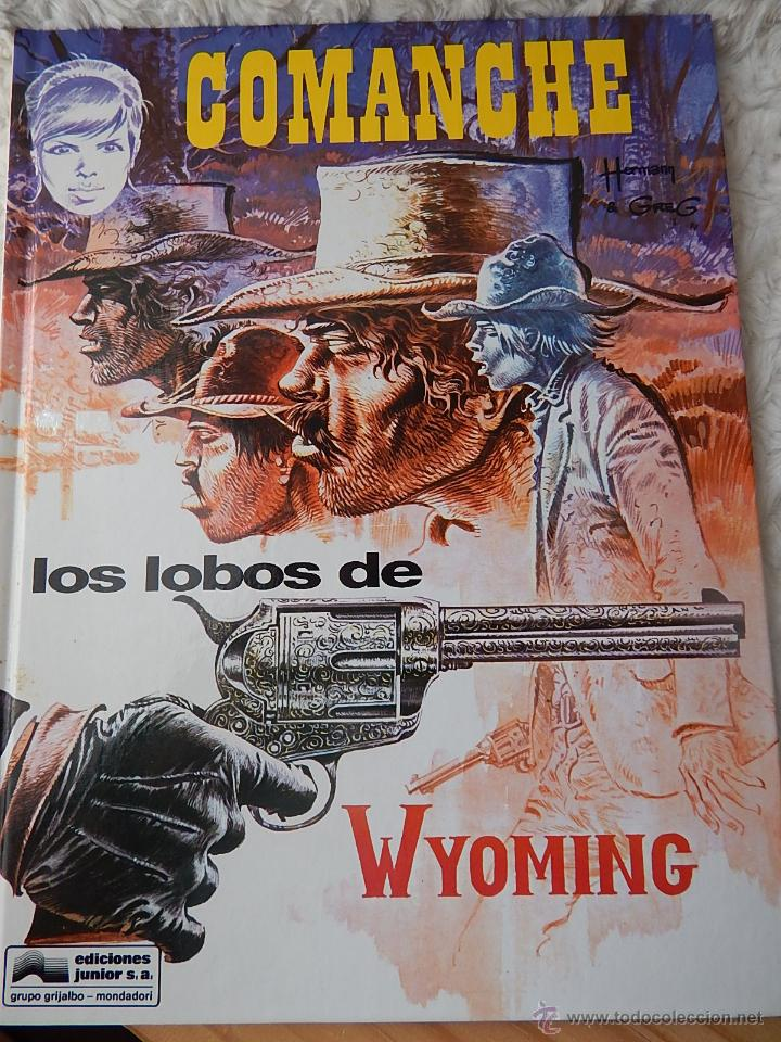 COMANCHE- LOS LOBOS DE WYOMING - N. 3 (Tebeos y Comics - Grijalbo - Comanche)