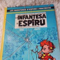 Cómics: LES AVENTURES D´ESPIRU I FANTASTIC- LA INFANTESA D´ESPIRU N. 24 - CATALA. Lote 44156861
