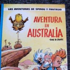 Cómics: LAS AVENTURAS DE SPIROU Y FANTASIO. AVENTURA EN AUSTRALIA. Nº 20. TOME & JANRY. ESPAÑA 1989.. Lote 44188703