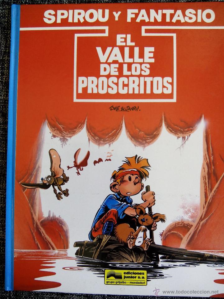 SPIROU Y FANTASIO. EL VALLE DE LOS PROSCRITOS. Nº27. TOME & JANRY. ESPAÑA 1991. (Tebeos y Comics - Grijalbo - Spirou)