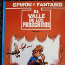 Cómics: SPIROU Y FANTASIO. EL VALLE DE LOS PROSCRITOS. Nº27. TOME & JANRY. ESPAÑA 1991.. Lote 44189032