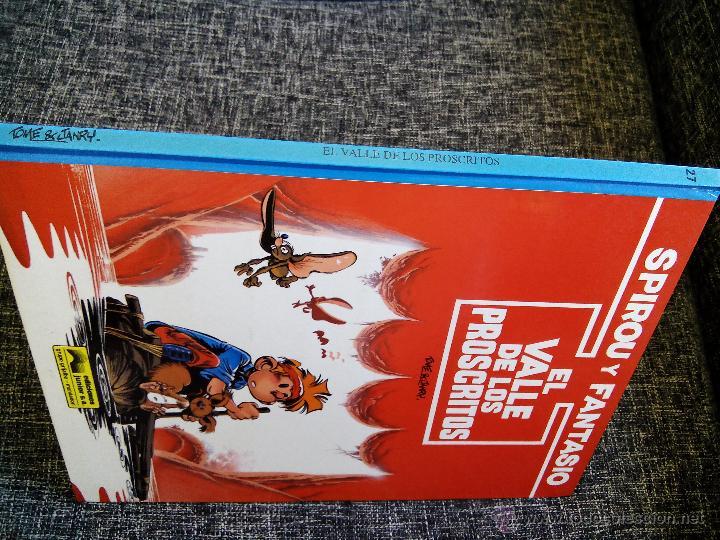 Cómics: SPIROU Y FANTASIO. EL VALLE DE LOS PROSCRITOS. Nº27. TOME & JANRY. ESPAÑA 1991. - Foto 3 - 44189032