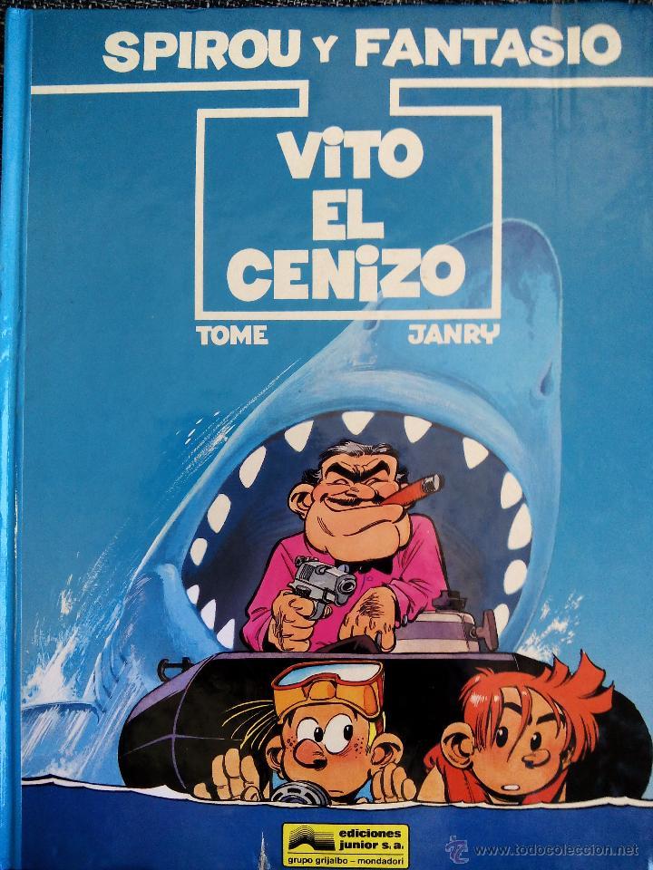 SPIROU Y FANTASIO. VITO EL CENIZO. Nº29. TOME & JANRY. ESPAÑA 1992. (Tebeos y Comics - Grijalbo - Spirou)