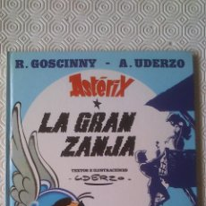 Comics: ASTERIX: LA GRAN ZANJA DE RENE GOSCINNY, ALBERT UDERZO . Lote 44212070