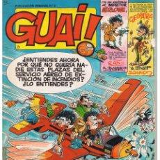 Cómics: GUAI !. Nº 3. EDICIONES JUNIOR. GRUPO GRIJALBO 1986.. Lote 44251901