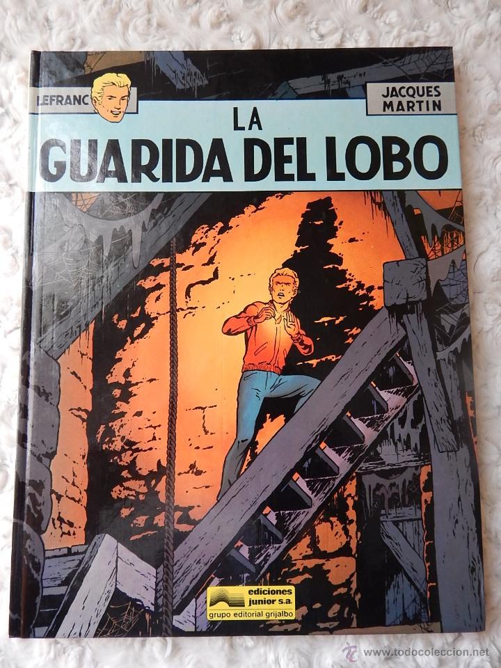 LEFRANC - N. 4 - LA GUARIDA DEL LOBO (Tebeos y Comics - Grijalbo - Lefranc)
