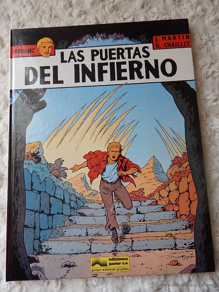 LEFRANC - N. 5 - LAS PUERTAS DEL INFIERNO (Tebeos y Comics - Grijalbo - Lefranc)