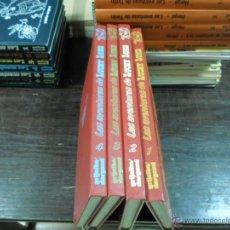 Cómics: LAS AVENTURAS DE LUCKY LUKE, GRIJALBAO-DARGAUD, 1985, 4 TOMOS. Lote 44341480