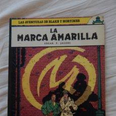 Cómics: LAS AVENTURAS DE BLAKE Y MORTIMER -LA MARCA AMARILLA N. 3. Lote 44375440