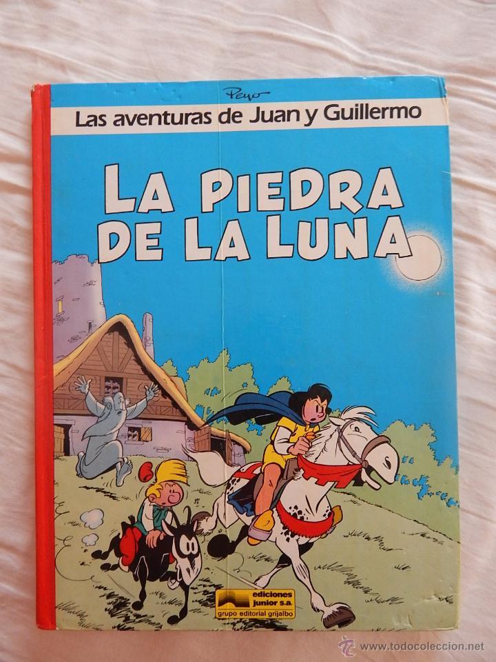 LAS AVENTURAS DE JUAN Y GUILLERMO N. 4 - LA PIEDRA DE LA LUNA (Tebeos y Comics - Grijalbo - Otros)