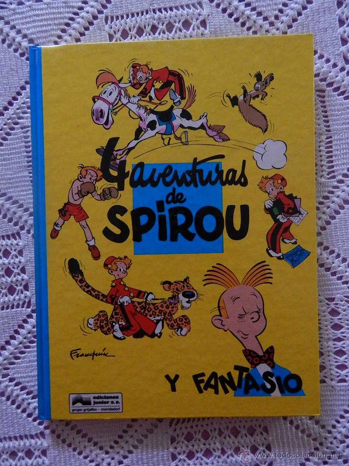 4 AVENTURAS DE SPIROU Y FANTASIO N. 30 (Tebeos y Comics - Grijalbo - Spirou)