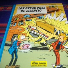 Cómics: SPIROU Y FANTASIO Nº 45 Y ÚLTIMO, LOS CREADORES DEL SILENCIO. GRIJALBO 1996. MBE Y MUY DIFÍCIL!!!!!!. Lote 44820791