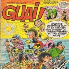 Cómics: CÓMIC GUAI! N.15. Lote 44866363