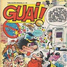 Cómics: CÓMIC GUAI! N. 43 . Lote 44866488