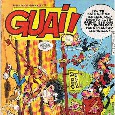 Cómics: CÓMIC GUAI! N.77 . Lote 44866585