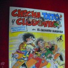 Cómics: CHICHA TATO Y CLODOVEO 4 - EL CACHARRO FANTASTICO - IBAÑEZ - CARTONE. Lote 45048489