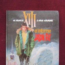Cómics: XIII. EL INFORME JASON FLY. W. VANCE Y J. VAN HAMME. TOMO 6. EDITORIAL GRIJALBO/DARGAU 1989. Lote 45070353