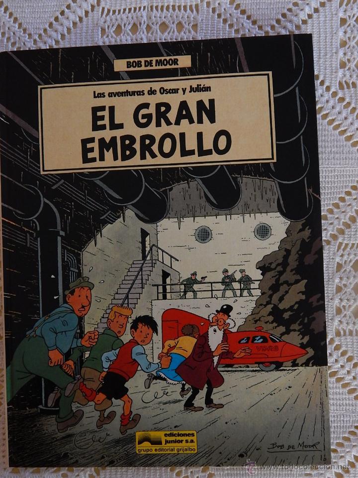 LAS AVENTURAS DE OSCAR Y JULIAN - N. 1 - EL GRAN EMBROLLO (Tebeos y Comics - Grijalbo - Otros)