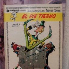 Cómics: LUCKY LUKE -EL PIE TIERNO- AÑO 1977 TAPA DURA. Lote 45178017