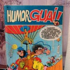 Cómics: HUMOR GUAI! Nº 3 -AÑO 1986- CONTIENE: GUAI NºS 19, 20, 21 Y 9 -TAPA CARTONÉ. Lote 45178096
