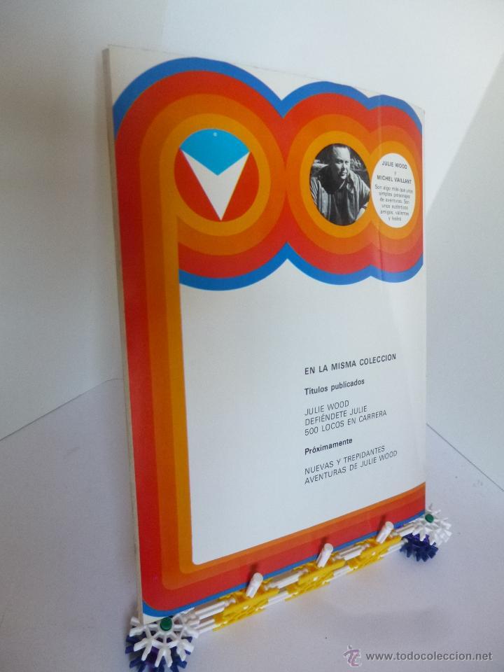 Cómics: 500 LOCOS EN CARRERA CON JULIE WOOD (JEAN GRATON) HERMANOS WOOD Nº 3 JUNIOR GRIJALBO ED. 1977 OFRT - Foto 2 - 207048695