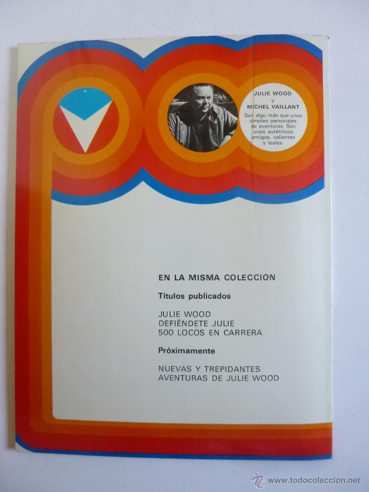 Cómics: 500 LOCOS EN CARRERA CON JULIE WOOD (JEAN GRATON) HERMANOS WOOD Nº 3 JUNIOR GRIJALBO ED. 1977 OFRT - Foto 4 - 207048695