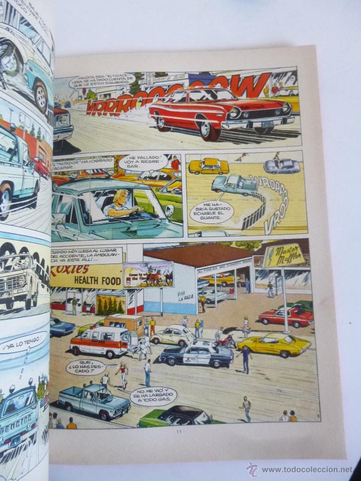 Cómics: 500 LOCOS EN CARRERA CON JULIE WOOD (JEAN GRATON) HERMANOS WOOD Nº 3 JUNIOR GRIJALBO ED. 1977 OFRT - Foto 7 - 207048695