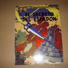 Cómics: LAS AVENTURAS DE BLAKE Y MORTIMER Nº 11, TAPA DURA, EDITORIAL GRIJALBO. Lote 45213169
