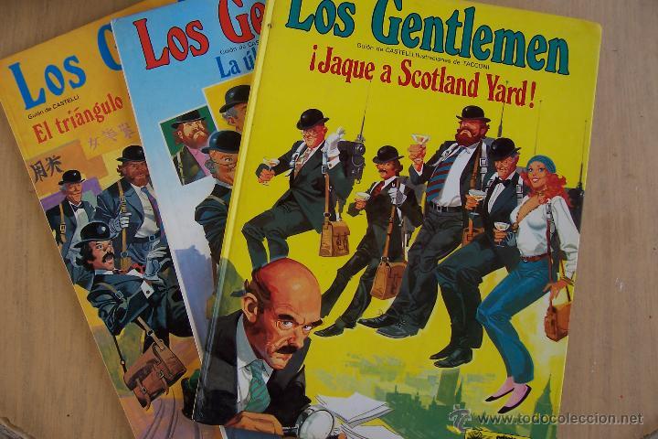 GRIJALBO-JUNIOR.- LOS GENTLEMEN Nº 1 - 2 4 DE 1980,1981 Y 1982 (Tebeos y Comics - Grijalbo - Otros)