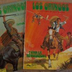 Cómics: GRIJALBO-JUNIOR.- LOS GRINGOS Nº 1 Y 2 DE 1980 Y 1981 EN RUSTICA. Lote 45248222