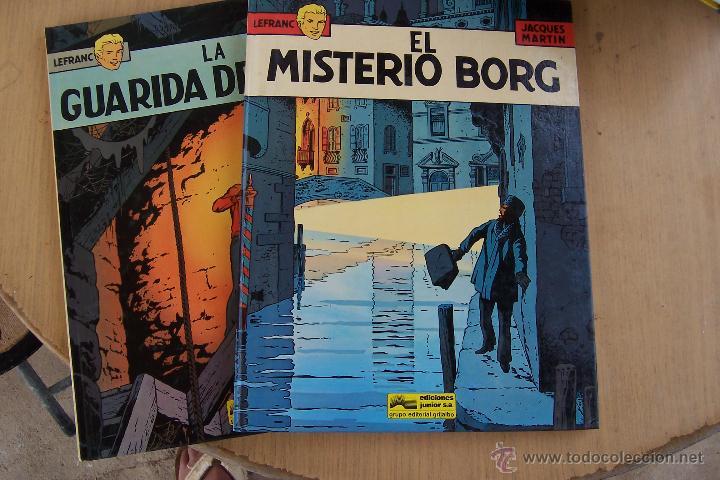 GRIJALBO-JUNIOR.- LEFRANC Nº 3 Y 4 (Tebeos y Comics - Grijalbo - Lefranc)