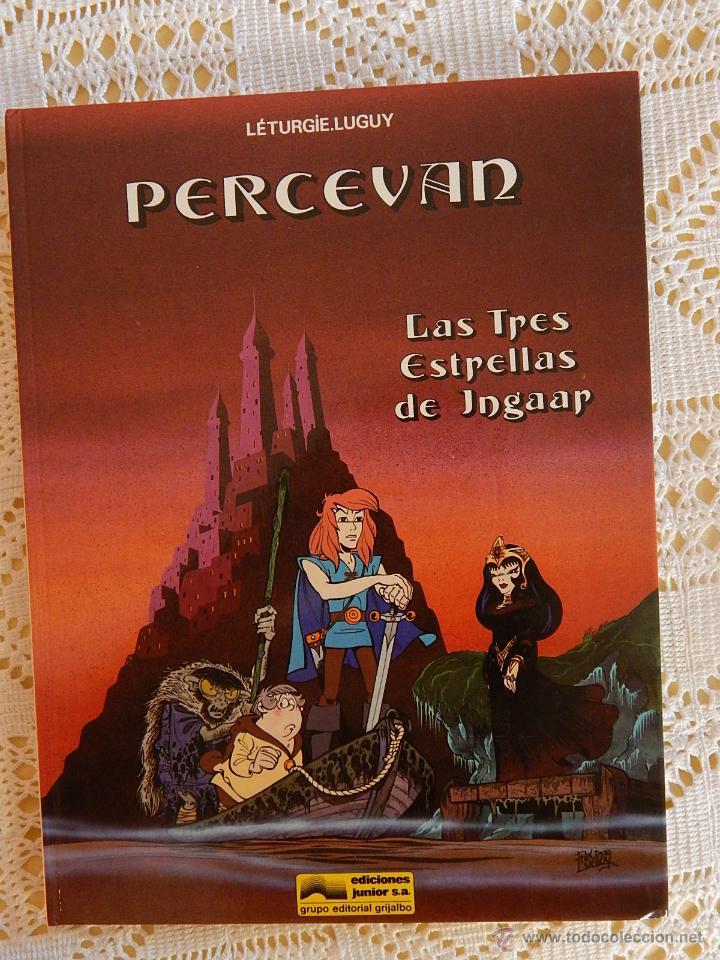 PERCEVAN N. 1 - LAS TRES ESTRELLAS DE INGAAR. (Tebeos y Comics - Grijalbo - Percevan)
