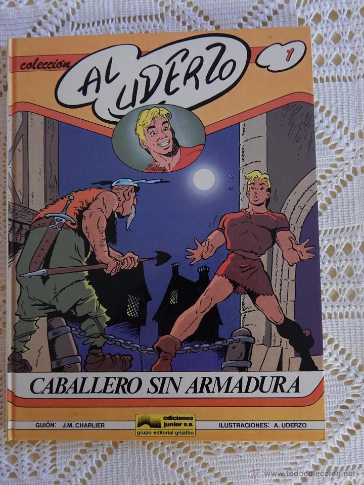 AL UDERZO N. 1 - CABALLERO SIN ARMADURA (Tebeos y Comics - Grijalbo - Otros)