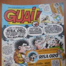 Cómics: REVISTA GUAI. Nº 26. Lote 45327896