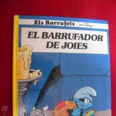 Cómics: EL BARRUFADOR DE JOIES - PEYO - CARTONE - EN CATALAN. Lote 45351734