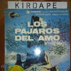 Cómics: VALERIAN. LOS PÁJAROS DEL AMO. Lote 45537625