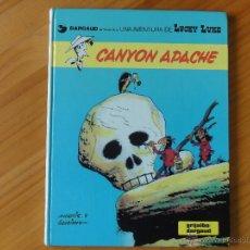 Cómics: LUCKY LUKE Nº 17. CANYON APACHE. MORRIS & GOSCINNY. Lote 45581291