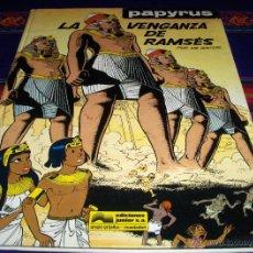 Cómics: PAPYRUS Nº 7 LA VENGANZA DE RAMSÉS. GRIJALBO 1990. DIFÍCIL!!!!!. Lote 45624501