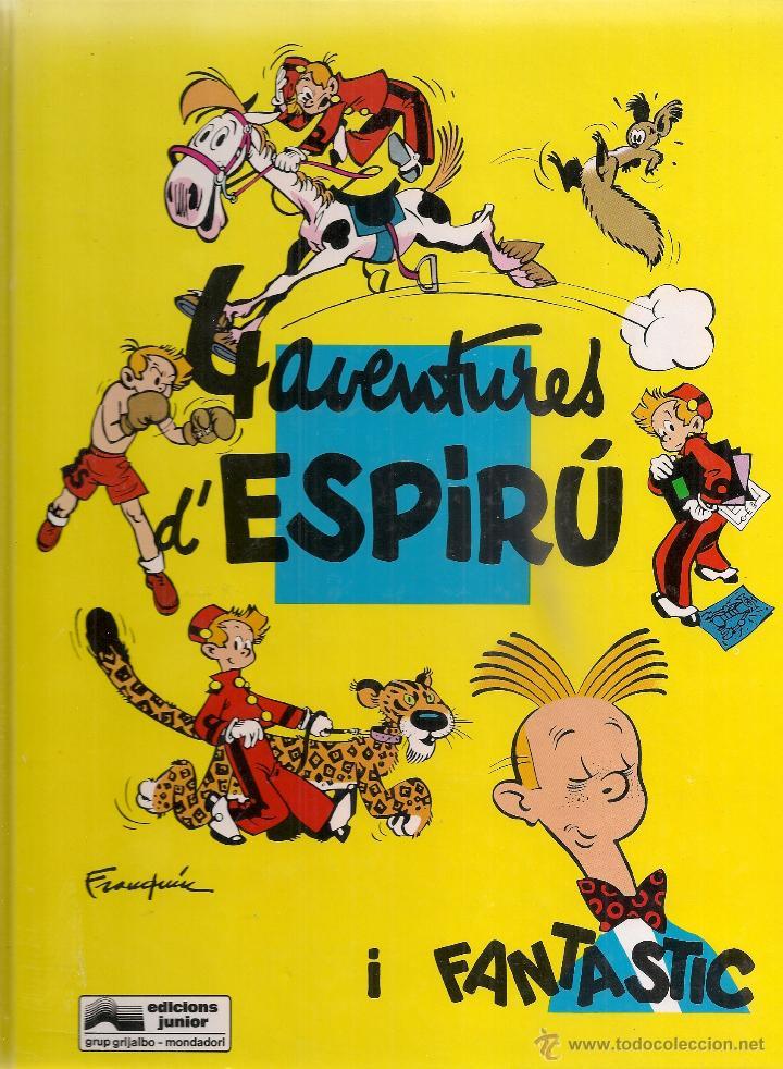 SPIROU Nº 30. 4 AVENTURES D'ESPIRU I FANTASTIC. BCN : GRIJALBO, 1992. 30X22CM. 69 P. (Tebeos y Comics - Grijalbo - Spirou)