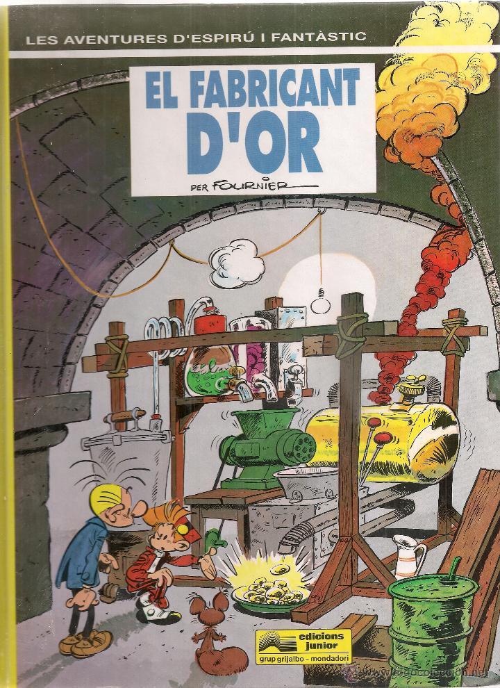 SPIROU Nº 33. EL FABRICANT D'OR. BCN : GRIJALBO, 1993. 30X22CM. 62 P. (Tebeos y Comics - Grijalbo - Spirou)