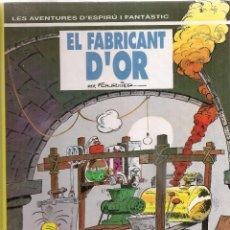 Cómics: SPIROU Nº 33. EL FABRICANT D'OR. BCN : GRIJALBO, 1993. 30X22CM. 62 P.. Lote 45665159