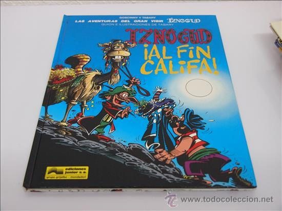 IZNOGUD, AL FIN CALIFA. 1994, COMIC (Tebeos y Comics - Grijalbo - Iznogoud)